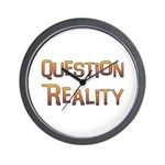 Question Reality Wall Clock
