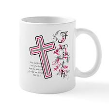 Faith with cross Mug