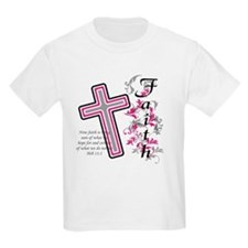 Faith with cross T-Shirt