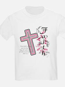 Faith with cross T-Shirt