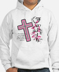 Faith with cross Hoodie