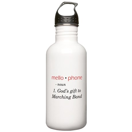 Definition of Mellophone Stainless Water Bottle 1.