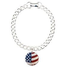Vintage American Flag Bracelet