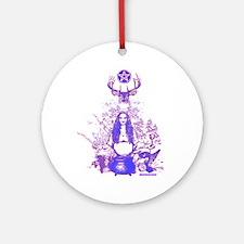 Purple Gaia Ornament (Round)
