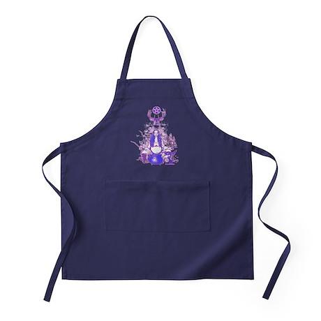 Purple Gaia Apron (dark)