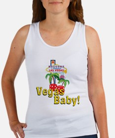 Vegas Baby! Women's Tank Top