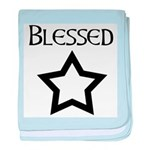 Peantacle Blessed Be baby blanket