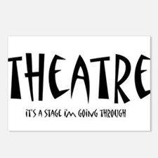 Cute Theatre Postcards (Package of 8)