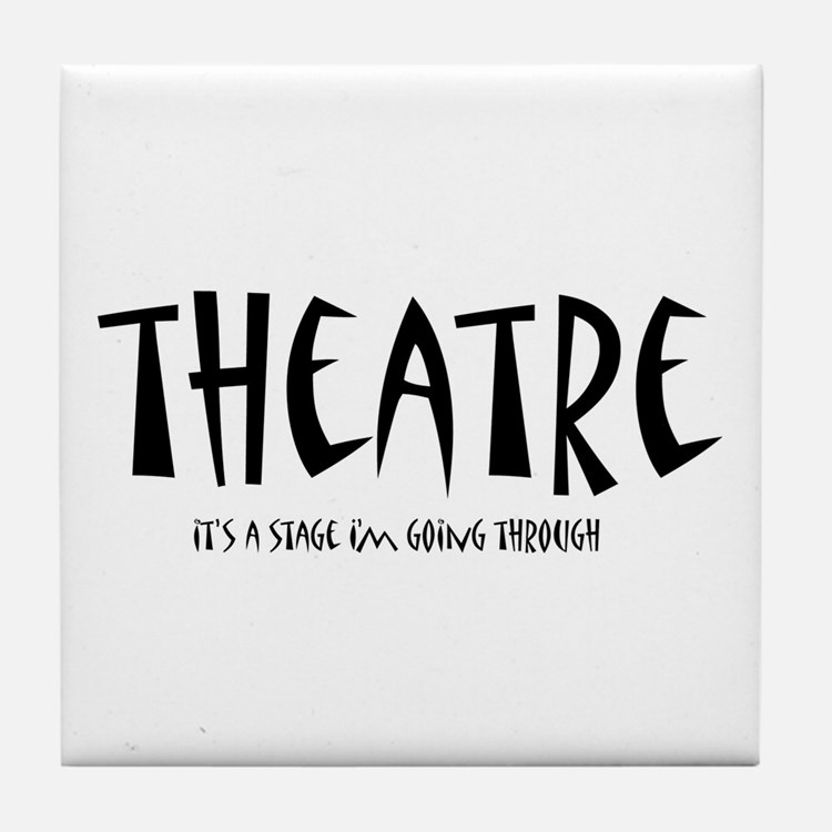 Cute Drama Tile Coaster