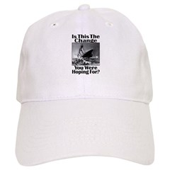 Is This The Change You Were Hoping For? v2 Baseball Cap