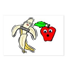Censored Fruit Postcards (Package of 8)