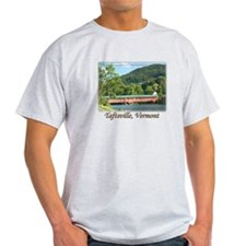 Taftsville VT Covered Bridge T-Shirt