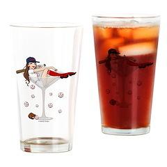 Boston Girl Martini Pint Glass
