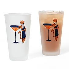 Auburn Tigertini Pint Glass