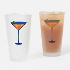 Gator Martini Pint Glass