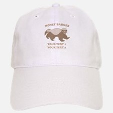 Personalize Honey Badger Baseball Baseball Cap