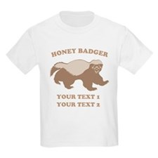 Personalize Honey Badger T-Shirt