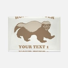 Personalize Honey Badger Rectangle Magnet (100 pac