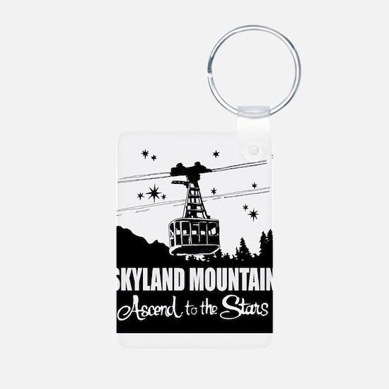 Skyland Mountain Souvenir Aluminum Photo Keychains