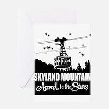 Skyland Mountain Souvenir Greeting Card
