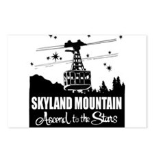 Skyland Mountain Souvenir Postcards (package Of 8)
