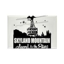 Skyland Mountain Souvenir Rectangle Magnet Magnets