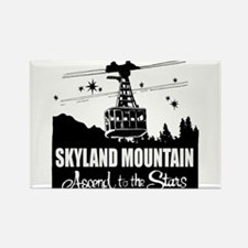 Skyland Mountain Souvenir Rectangle Magnet Magnets
