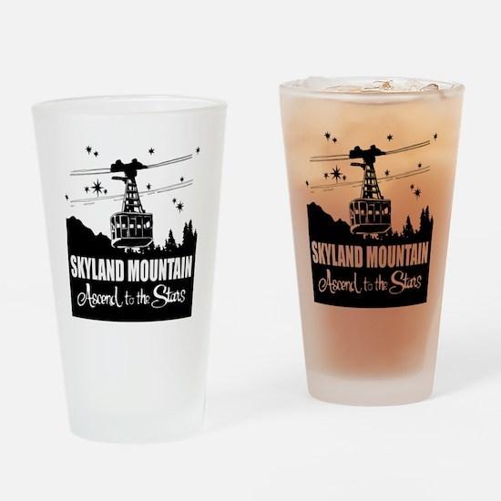 Skyland Mountain Souvenir Pint Glass