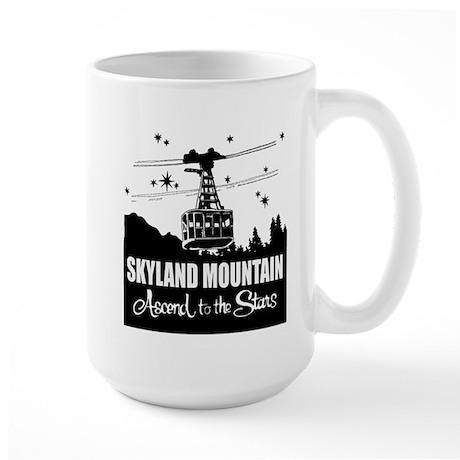 Skyland Mountain Souvenir Large Mug Mugs