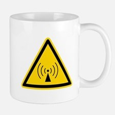 RF Warning Sign Mug