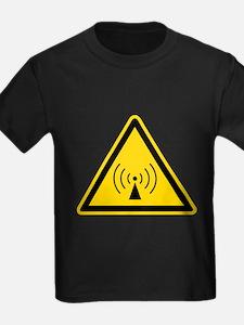 RF Warning Sign T