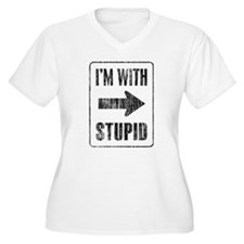 Vintage I'm With Stupid [r] T-Shirt