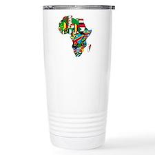 Flags of Africa Travel Mug