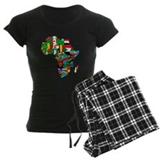 Flags of Africa Pajamas