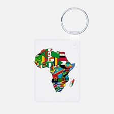 Flags of Africa Keychains