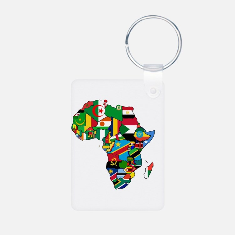 Flags Of Africa Keychains Keychains