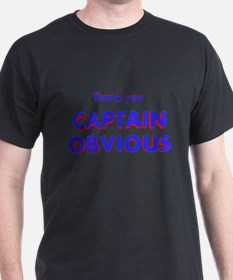 Thank you Captain Obvious T-Shirt