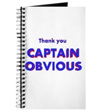 Thank you Captain Obvious Journal