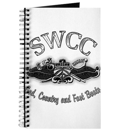 USN Navy SWCC Badge Journal