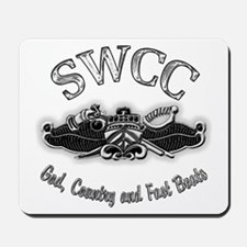USN Navy SWCC Badge Mousepad