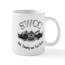 USN Navy SWCC Badge Mug