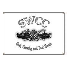 USN Navy SWCC Badge Banner