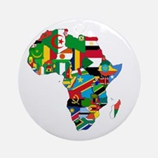 Flags of Africa Ornament (Round)