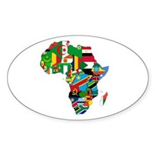 Flags of Africa Decal