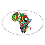 Africa Bumper Stickers