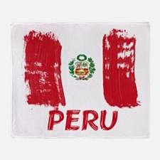 Peru Throw Blanket