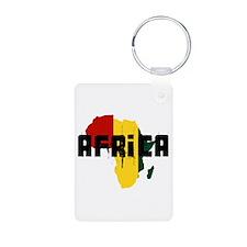 Reggae Africa Keychains