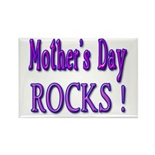 Mother's Day Rocks ! Rectangle Magnet