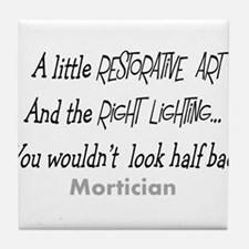 Funeral Director/Mortician Tile Coaster