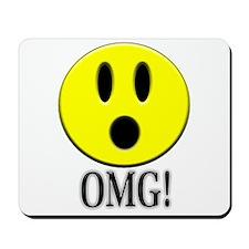 OMG Smiley Mousepad